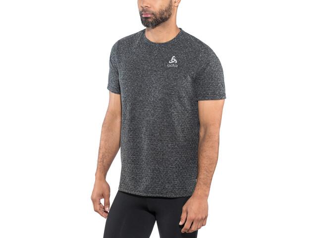 Odlo BL Millennium Linencoo Koszulka z krótkim rękawem Mężczyźni, black melange